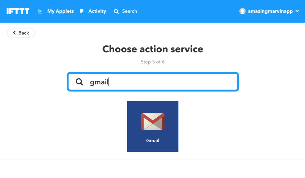 Connect your email account